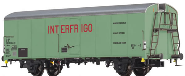 Brawa 48338 - German Refrigerator Car Interfrigo of the DB