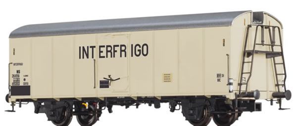Brawa 48343 - Dutch Refrigerator Car Interfrigo of the NS