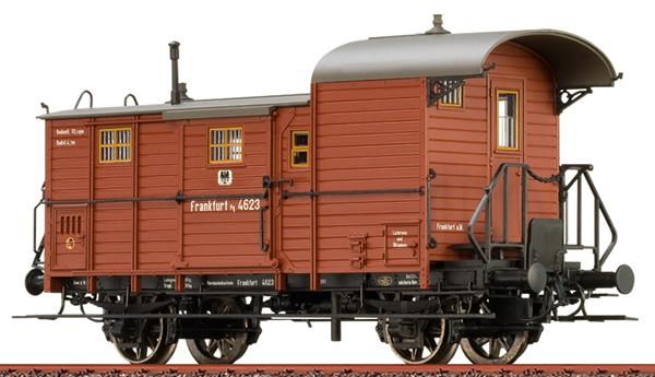 Brawa 48363 - Luggage Car Pg 12