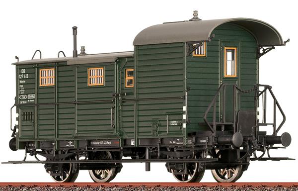 Brawa 48365 - Luggage Car Pwgi 12