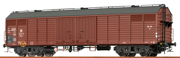 Brawa 48395 - German Covered Freight Car GGHRSZ of the DR