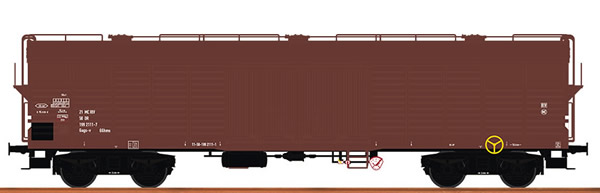Brawa 48396 - German Covered Freight Car GAGS-V of the DR