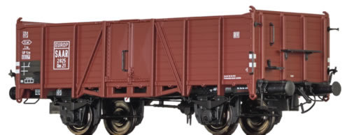 Brawa 48428 - German Open Goods Wagon Om21 of the SAAR