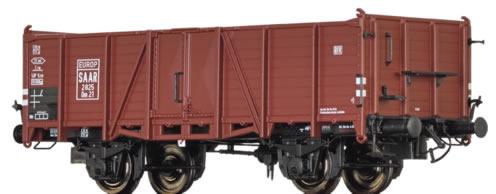 Brawa 48428 - German Open Goods Wagon Om21 of the SAAR