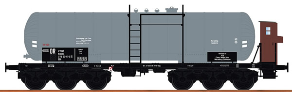 Brawa 48542 - German Tank Car ZZH of the DB