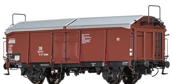 Brawa 48627 - Covered Freight Car Ts-51 Kmmks