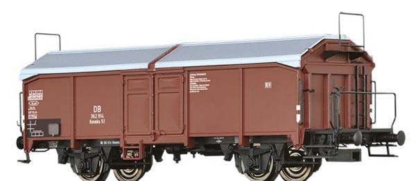 Brawa 48634 - German Covered Freight Car Kmmks 51