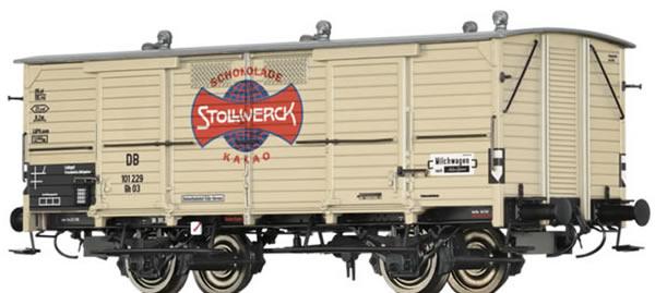 Brawa 48661 - Milk Car Gh 03 Stollwerk
