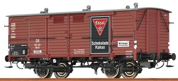 Brawa 48665 - German Box Car GH03 ESSZET of the DB