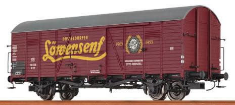 "Brawa 48713 - Covered Freight Car Glr 22 ""Löwensenf"" DB"