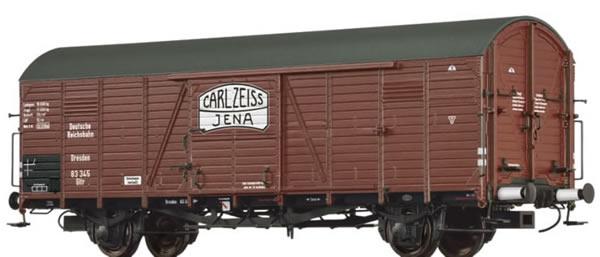 Brawa 48725 - Covered Freight Car Gltr Carl Zeiss Jena