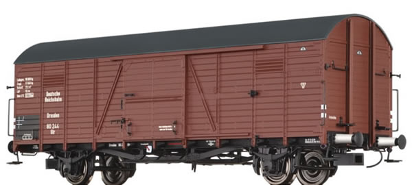 Brawa 48728 - Covered Freight Car Glr