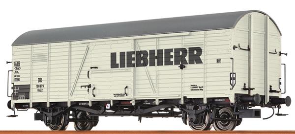 Brawa 48737 - German Box Car GLR22 Liebherr of the DB