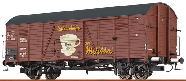 Brawa 48741 - German Box Car GLR MELITTA of the DRG