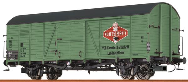 Brawa 48743 - German Box Car GLUW FORTSCHRITT of the DR