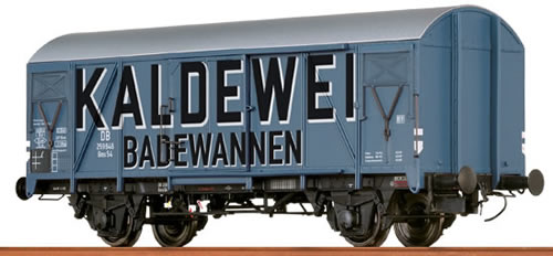 Brawa 48816 - German Freight Car Gms54 Kaldewei of the DB