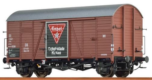 """Brawa 48832 - Covered Freight Car Gms 30 """"Eßzet"""" DB"""