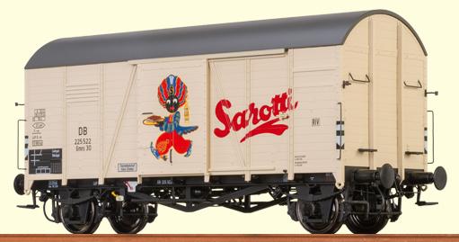"Brawa 48833 - Covered Freight Car Gmrs 30 Sarotti"""