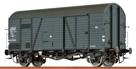 Brawa 48838 - Covered Freight Car Gms 30 SNCF