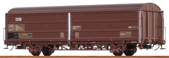"""Brawa 48976 - Sliding Wall Car Hbis """"OL"""" DSB"""