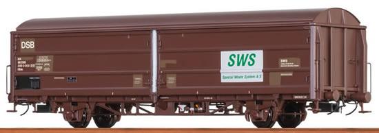 "Brawa 48977 - Sliding Wall Car Hbis ""SWS"" DSB"