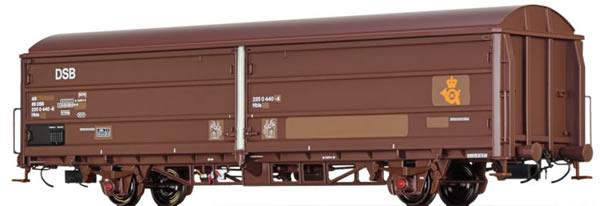 Brawa 48978 - Danish Sliding Wall Freight Car Hbis Post of the DSB