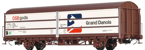 Brawa 48979 - Danish Sliding Wall Freight Car Hbis Grand Danois of the DSB