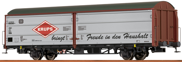 Brawa 48990 - German Sliding Wall Van HBIS KRUPS of the DB