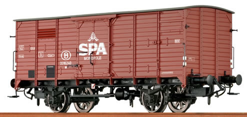 Brawa 49025 - Belgian Freight Car G10 Spa of the SNCB