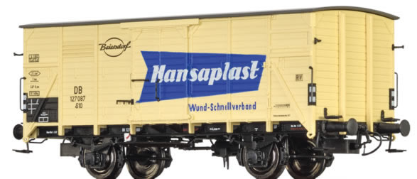 Brawa 49035 - German Freight Car G10 Hansaplast of the DB