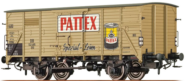 Brawa 49036 - Covered Freight car G10 Pattex