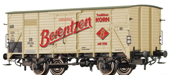 Brawa 49045 - German Freight Car G10 Berentzen of the DB