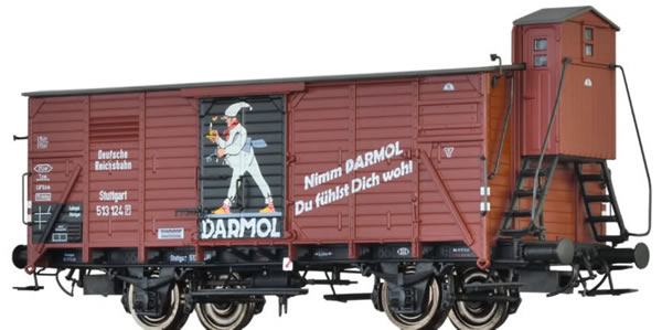 Brawa 49049 - Covered Freight Car G10 DARMOL