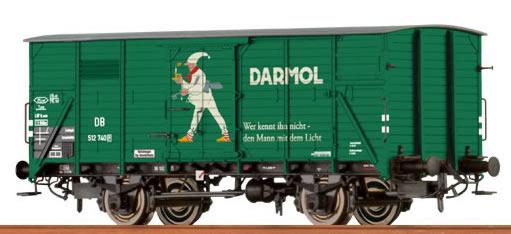 "Brawa 49050 - Covered Freight Car G 10 ""Darmol"" DB"