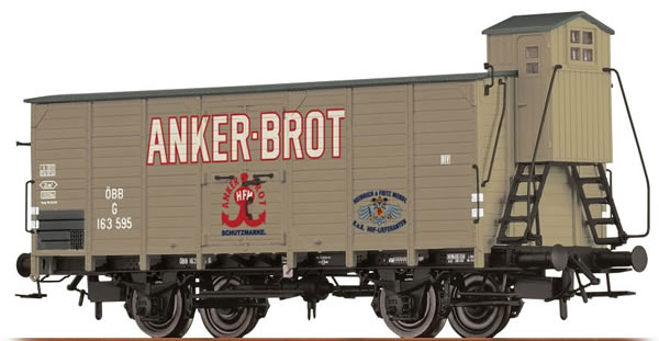 Brawa 49056 - Covered Freight Car G Anker-Brot
