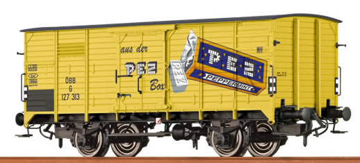 "Brawa 49057 - Covered Freight Car G 10 ""PEZ"" ÖBB"