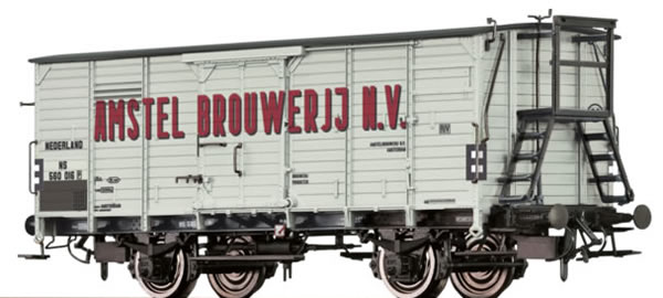 Brawa 49062 - Dutch Beer Car G10 Amstel Brouwerij of the NS