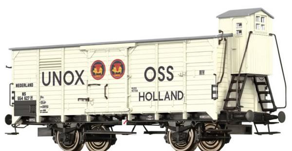 Brawa 49063 - Beer Car G10 UNOX