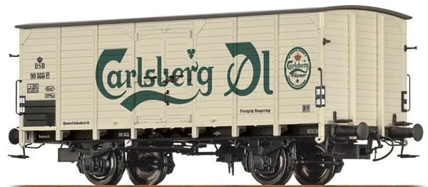 Brawa 49066 - Beer car G10 Carlsberg
