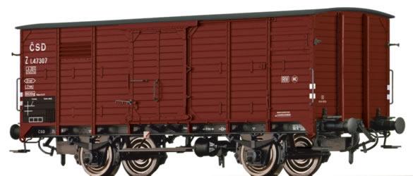 Brawa 49067 - Czechoslovakian Freigth Car Z of the CSD