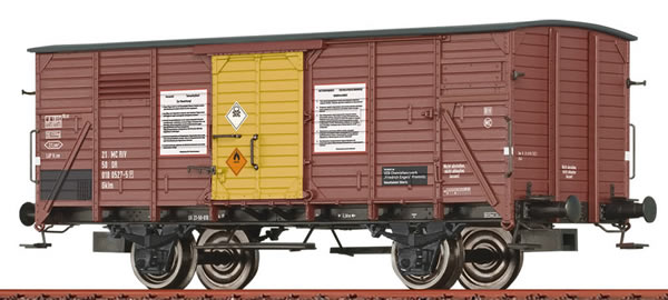 Brawa 49072 - German Covered Freight Car Gklm Tetraethylblei