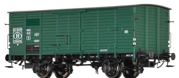 Brawa 49077 - Belgian Freight Car G10 of the SNCB