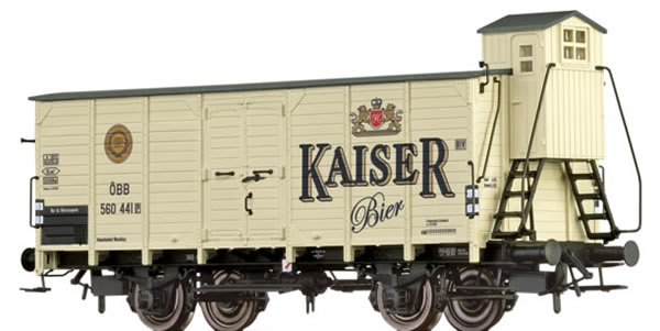 Brawa 49084 - Austrian Freight Car Kaiser Bier of the OBB