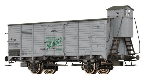 Brawa 49092 - Czechoslovakian Freight Car Gg Cosmanos of the CSD
