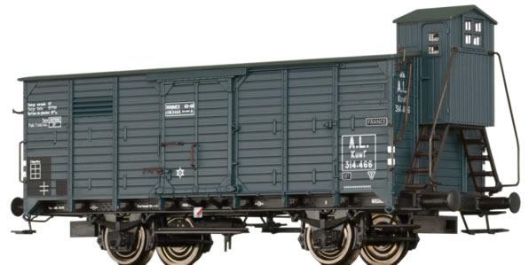 Brawa 49094 - German Freight Car Kuwf of the A.L.