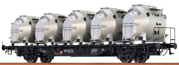 Brawa 49131 - German Container Car BTMMS VON HAUS ZU HAUS of the DB