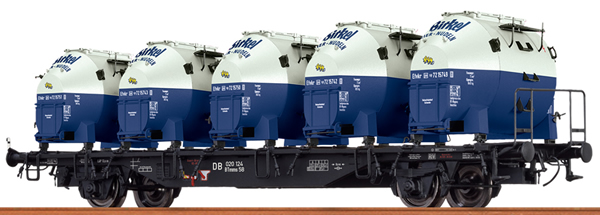 Brawa 49132 - German Container Car BTMMS BIRKEL of the DB