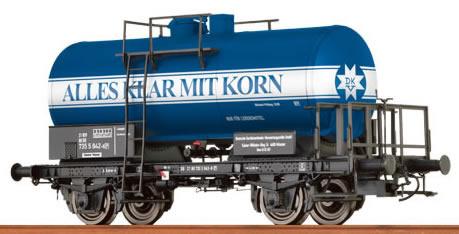 Brawa 49212 - Tank Car 2-axle Alles klar mit Korn DB