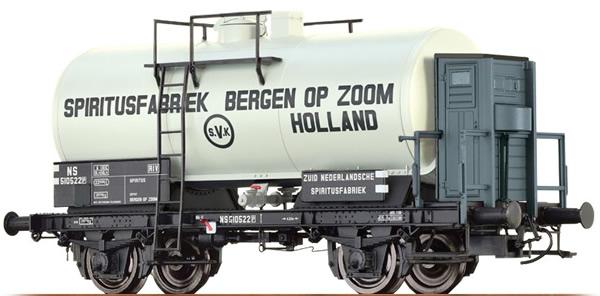 Brawa 49213 - Tank Car 2-axle Spiritusfabriek Bergen OP Zoom