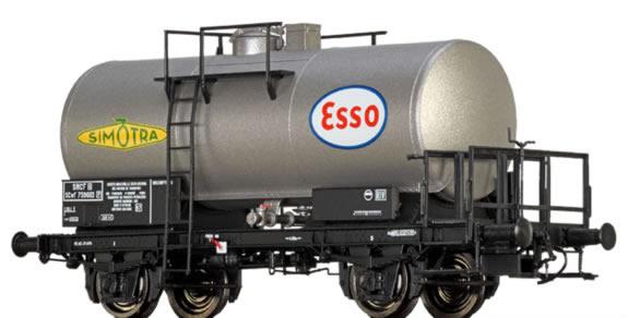 Brawa 49219 - French Tank Car SCwf Simotra / Esso of the SNCF